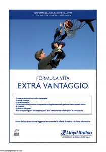 Lloyd Italico - Formula Vita Extra Vantaggio - Modello s11l-200 Edizione 01-2010 [38P]