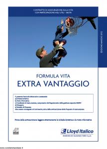 Lloyd Italico - Formula Vita Extra Vantaggio - Modello s11l-200 Edizione 05-2012 [40P]