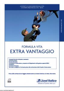 Lloyd Italico - Formula Vita Extra Vantaggio - Modello s11l-200 Edizione 05-2013 [34P]
