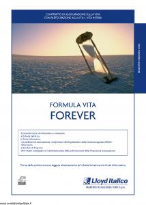 Lloyd Italico - Formula Vita Forever - Modello s11l-140 Edizione 05-2012 [48P]