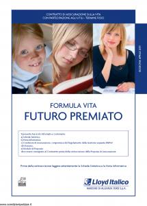Lloyd Italico - Formula Vita Futuro Premiato - Modello s11l-138 Edizione 04-2011 [48P]