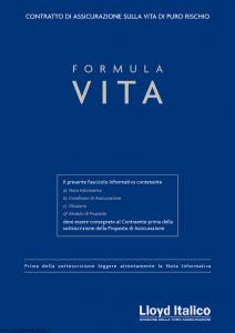 Lloyd Italico - Formula Vita - Modello s11l-101 Edizione 05-2006 [32P]