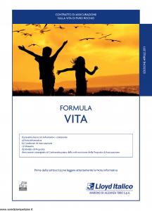 Lloyd Italico - Formula Vita - Modello s11l-144 Edizione 30-04-2011 [32P]