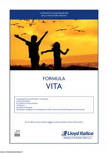 Lloyd Italico - Formula Vita - Modello s11l-144 Edizione 30-11-2010 [30P]