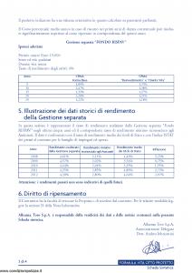 Lloyd Italico - Formula Vita Otto Protetto - Modello s11l-207 Edizione 05-2013 [34P]