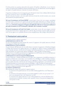 Lloyd Italico - Formula Vita Risparmio Protetto - Modello s11l-116 Edizione 03-2011 [58P]