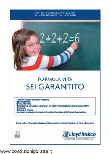 Lloyd Italico - Formula Vita Sei Garantito - Modello s11l-186 Edizione 12-2009 [38P]