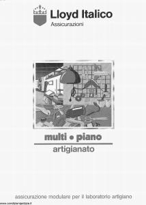 Lloyd Italico - Multi Piano Artigianato - Modello s01l-222 Edizione 01-1991 [28P]