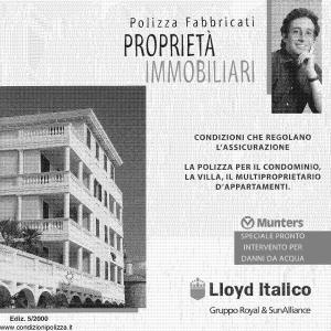Lloyd Italico - Polizza Fabbricati Proprieta' Immobiliari - Modello s01l-420 Edizione 05-2000 [64P]