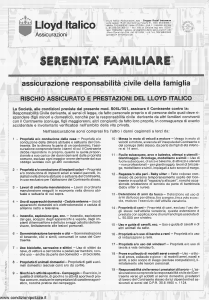 Lloyd Italico - Serenita' Familiare - Modello s06l-051 Edizione 11-1993 [4P]