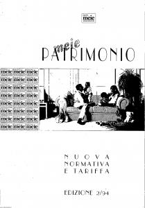 Meie - Meie Patrimonio - Modello nd Edizione 02-1994 [SCAN] [12P]