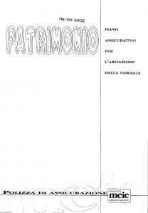 Meie - Meie Patrimonio - Modello t8888y2 Edizione 11-1997 [SCAN] [22P]