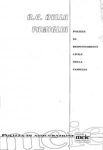 Meie - Rc Della Famiglia - Modello t8131f1 Edizione 05-1997 [SCAN] [8P]
