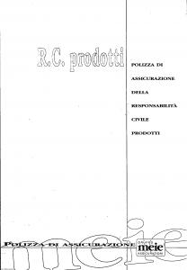 Meie - Rc Prodotti - Modello t8131h1 Edizione 10-1996 [SCAN] [7P]
