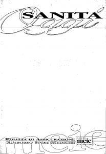 Meie - Sanita' Oggi Rimborso Spese Mediche - Modello t8020f3 Edizione 04-1996 [SCAN] [30P]