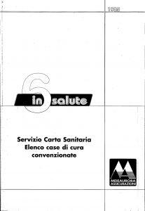 Meie Aurora - 6 In Salute Servizio Carta Sanitaria - Modello u1905 Edizione 07-2001 [SCAN] [8P]