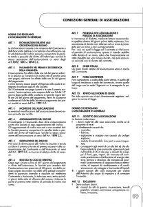 Meie Aurora - Polizza Assicurazione Incendio Rischi Industriali - Modello u5051a Edizione 06-2001 [SCAN] [10P]