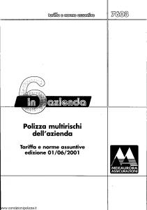 Meie Aurora - 6 In Azienda Multirischi Dell'Azienda - Modello u7603t Edizione 01-06-2001 [SCAN] [23P]
