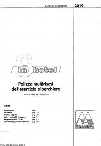 Meie Aurora - 6 In Hotel Multirischi Dell'Esercizio Alberghiero - Modello u3019a Edizione 01-06-2001 [SCAN] [16P]