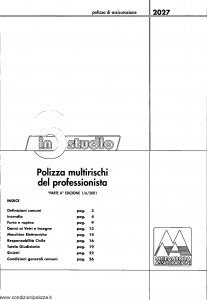 Meie Aurora - In Studio Multirischi Del Professionista - Modello u2027a Edizione 01-06-2001 [SCAN] [29P]