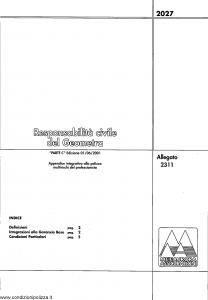 Meie Aurora - Responsabilita' Civile Del Geometra - Modello u2311c Edizione 01-06-2001 [SCAN] [6P]