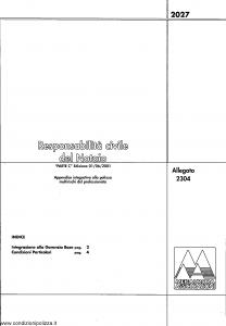 Meie Aurora - Responsabilita' Civile Del Notaio - Modello u2304c Edizione 01-06-2001 [SCAN] [4P]