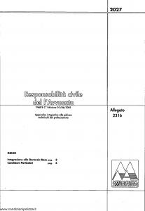 Meie Aurora - Responsabilita' Civile Dell'Avvocato - Modello u2316c Edizione 01-06-2001 [SCAN] [4P]