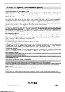 Milano Assicurazioni - Albergo 2000 - Modello 10786 Edizione 06-2006 [28P]