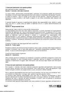 Milano Assicurazioni - Difesa Piu' Fabbricati Full - Modello 11499 Edizione 02-2009 [38P]