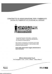Milano Assicurazioni - Difesa Piu' Fabbricati In Locazione All'Azienda - Modello 11719 Edizione 05-2012 [30P]