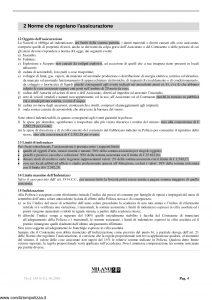 Milano Assicurazioni - Incendio Abitazione - Modello 11536 Edizione 06-2006 [10P]