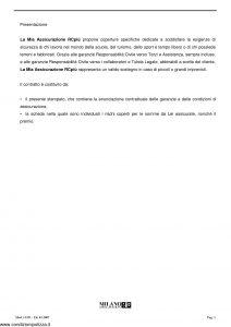 Milano Assicurazioni - La Mia Assicurazione Rc Piu' - Modello 11351 Edizione 01-2007 [66P]