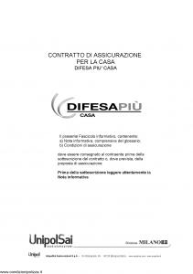 Milano - Difesa Piu' Casa - Modello 11556 Edizione 01-2014 [66P]