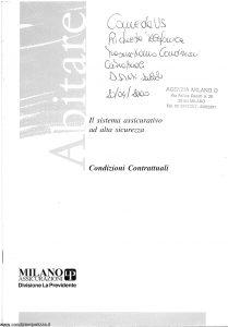Milano La Previdente - Abitare - Modello nd Edizione nd [SCAN] [24P]