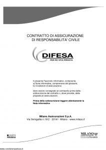 Milano La Previdente - Difesa Per Rc Vita Privata - Modello 11722 Edizione 05-2012 [18P]
