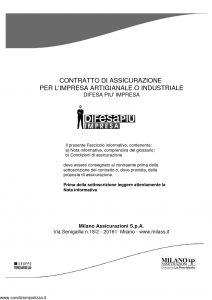 Milano La Previdente - Difesa Piu' Impresa - Modello 11658 Edizione 03-2011 [83P]