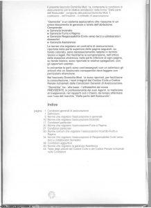 Milano La Previdente - Domicilia - Modello nd Edizione 09-1993 [SCAN] [34P]