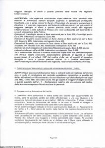 Milano La Previdente - Leasing Beni Strumentali Rischi Tecnologici - Modello 00060 Edizione 01-2014 [SCAN] [21P]