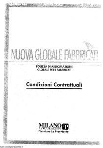 Milano La Previdente - Nuova Globale Fabbricati - Modello nd Edizione nd [SCAN] [19P]