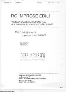 Milano La Previdente - Rc Imprese Edili - Modello nd Edizione 06-2006 [SCAN] [17P]
