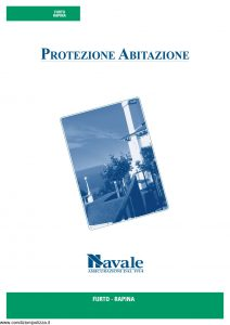 Navale - Protezione Abitazione Furto Rapina - Modello Paba02 Edizione 02-2009 [10P]