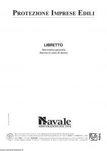Navale - Protezione Imprese Edili - Modello PIE01 Edizione 02-2009 [24P]