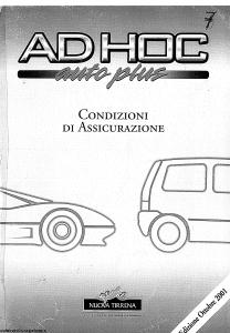 Nuova Tirrena - Ad Hoc Auto Plus - Modello 12.37 Edizione 10-2001 [SCAN] [74P]