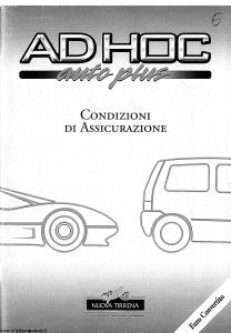 Nuova Tirrena - Ad Hoc Auto Plus - Modello 12.39 Edizione 10-1992 [SCAN] [74P]
