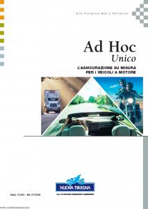 Nuova Tirrena - Ad Hoc Unico - Modello 12.005 Edizione 07-2005 [63P]