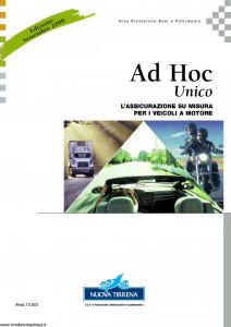 Nuova Tirrena - Ad Hoc Unico - Modello 12.023 Edizione 09-2008 [72P]