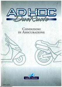 Nuova Tirrena - Ah Hoc Due Ruote - Modello 12.25 Edizione 04-1999 [SCAN] [59P]