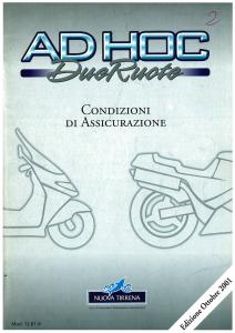 Nuova Tirrena - Ah Hoc Due Ruote - Modello 12.81 Edizione 10-2001 [SCAN] [60P]