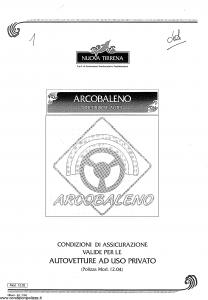 Nuova Tirrena - Arcobaleno Multirischi Auto - Modello 12.04 Edizione 07-1994 [43P]