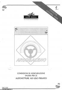 Nuova Tirrena - Arcobaleno Multirischi Auto - Modello 12.92 Edizione 10-1995 [55P]